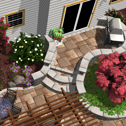 Choose Alsip Home & Nursery for your Landscape Design