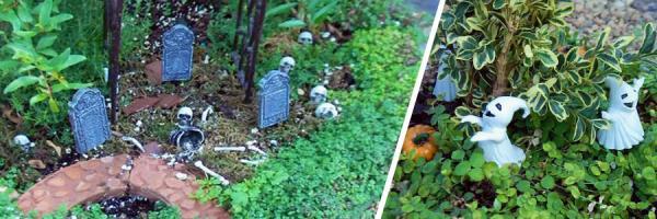 Fall Fairy Gardens