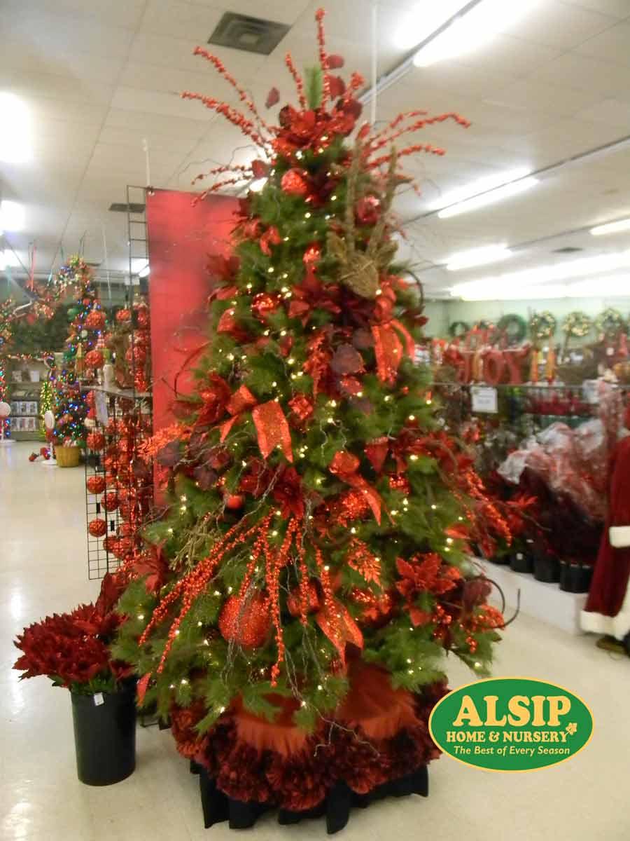 Christmas Display Ideas For Nursery.Top 5 Decorated Christmas Trees Alsip Home Nursery