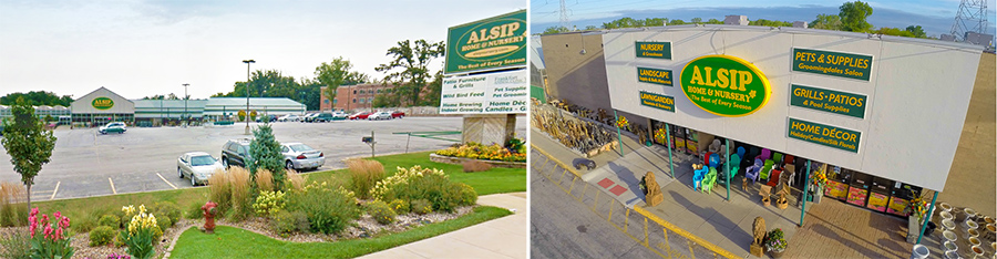 Alsip Home & Nursery is located in Frankfort, IL and St. John, IN