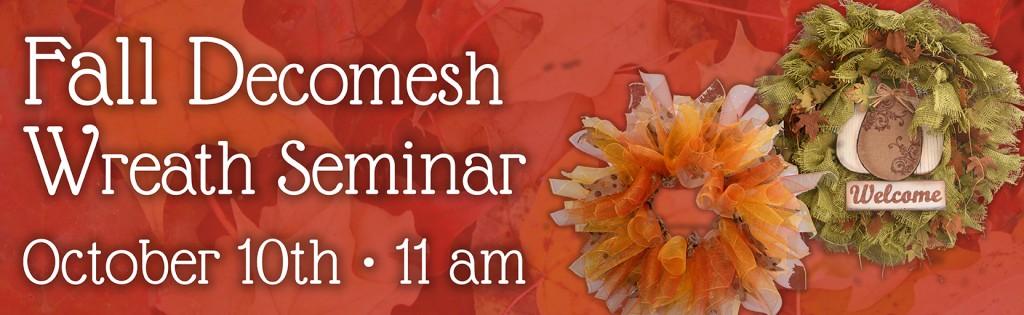 Decomesh Wreath Seminar