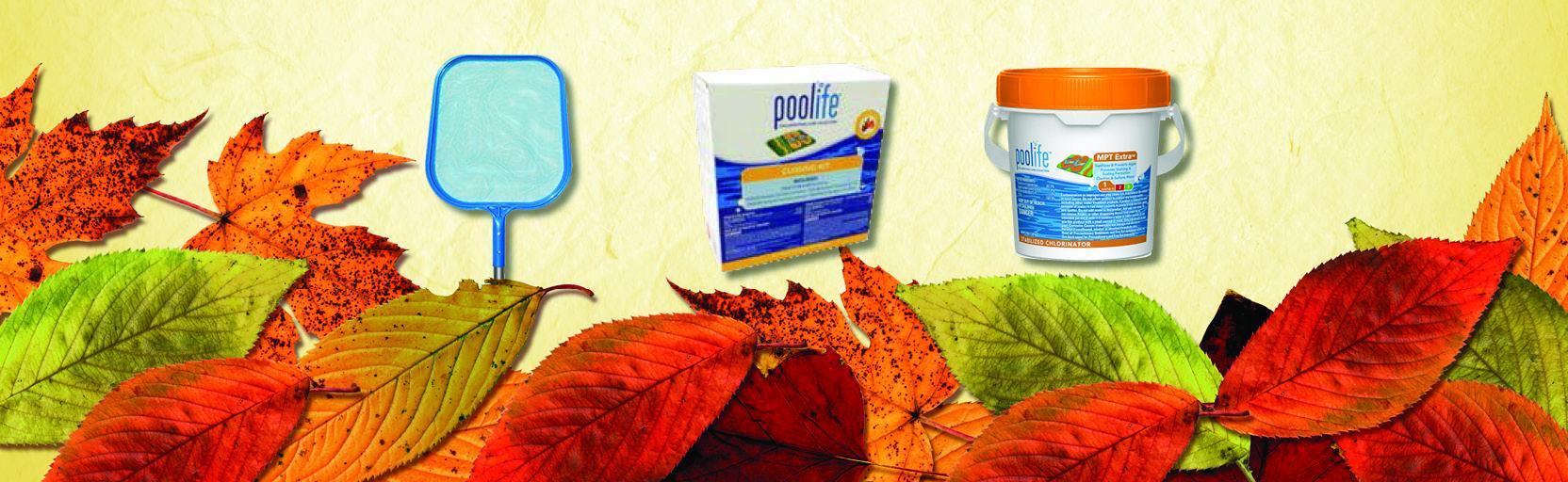 Fall Pool Supplies