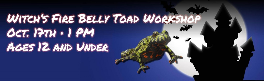 Firebelly Toad Workshop at Alsip Nursery