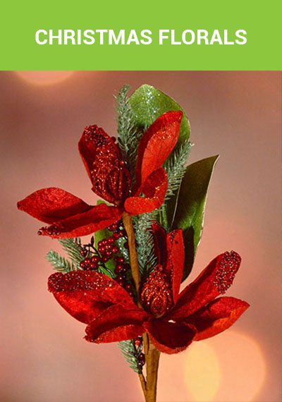 Shop Christmas Florals, Stems, and Picks from Alsip Home & Nursery!