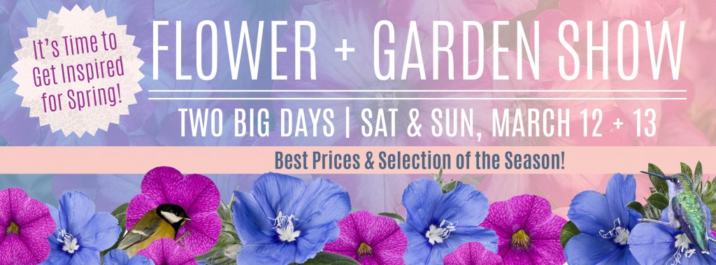 2016 Flower & Garden Show at Alsip Home & Nursery. March 12 &13 2016