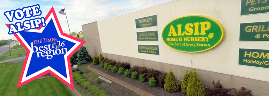 Vote Alsip Home & Nursery in The Times Best of the Region 2016