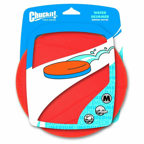 Chuckit! Water Skimmer floating toy for dogs. Purchase now at shop.alsipnursery.com!