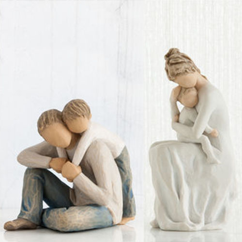 Willow Tree Figurines available at Alsip Home & Nursery