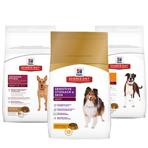 Science Diet dog food is available at Alsip Home & Nursery