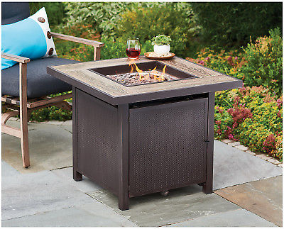 "FOUR SEASONS COURTYARD 30"" SQUARE GAS FIRE PIT"