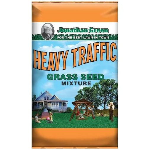 HEAVY TRAFFIC MIXTURE GRASS SEED, 2800 SQ. FT.