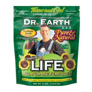 ORGANIC LIFE ALL PURPOSE FERTILIZER, 4 LB