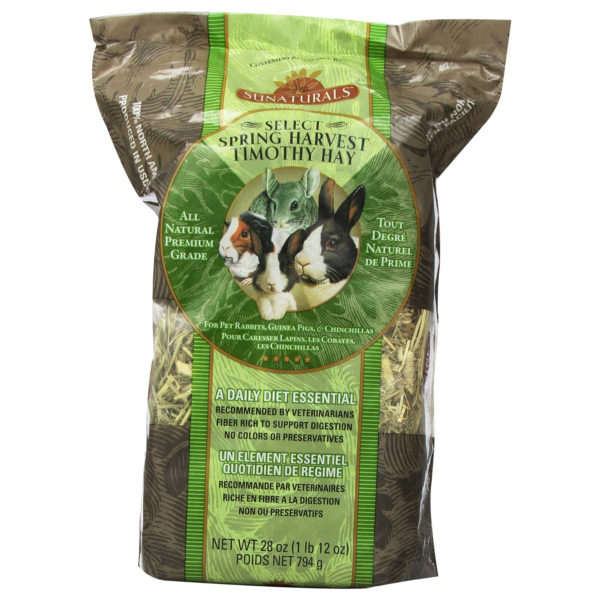 SPRING HARVEST SMALL ANIMAL TIMOTHY HAY, 28 OZ.