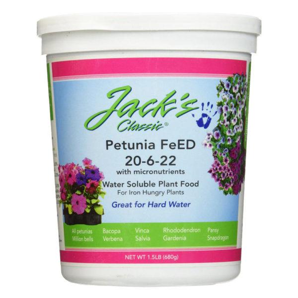 JACK'S PETUNIA FEED, 1.5 LB
