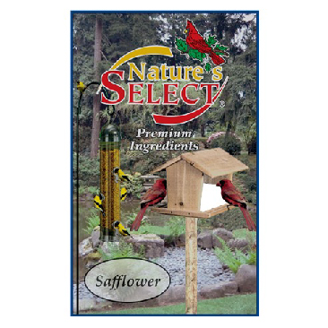 NATURE'S SELECT SAFFLOWER SEED, 8 LB