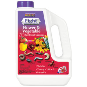 EIGHT FLOWER & VEGETABLE GRANULES, 3 LB