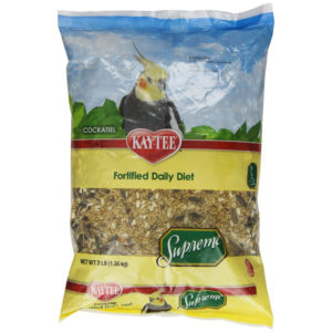 KAYTEE SUPREME BIRD FOOD FOR COCKATIELS