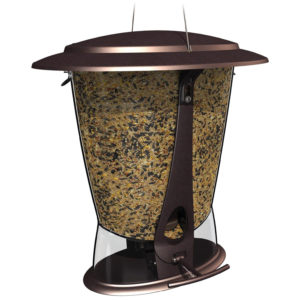 MORE BIRDS X-2, SQUIRREL PROOF FEEDER, 2 FEEDING PORTS, 4-POUND CAPACITY