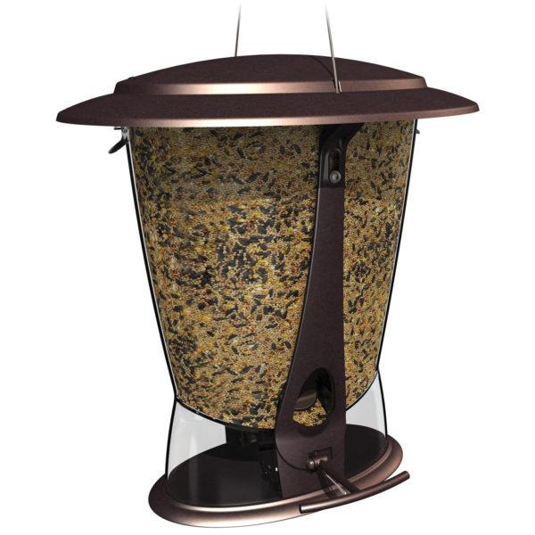 MORE BIRDS X-2, SQUIRREL PROOF FEEDER, 2 FEEDING PORTS, 4-POUND CAPACITY