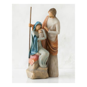 The Holy Family Willow Tree Nativity Scene