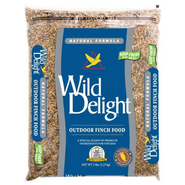 WILD DELIGHT OUTDOOR FINCH FOOD, 5 LB