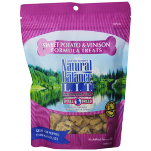 NATURAL BALANCE LIMITED INGREDIENT DOG TREATS, VENISON & SWEET POTATO, 8 OZ.