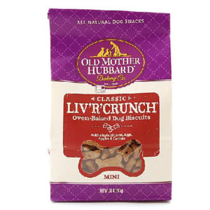 OLD MOTHER HUBBARD LIV'R'CRUNCH