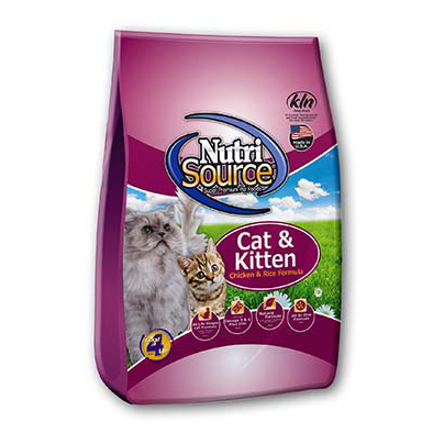 CAT & KITTEN CHICKEN & RICE - CAT FOOD