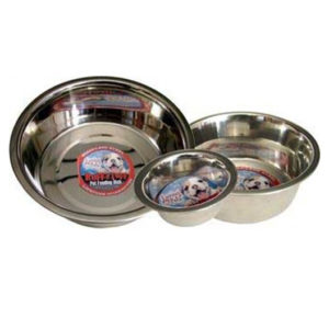 LOVING PETS STANDARD STAINLESS DISH DOG BOWL, 5-QUART