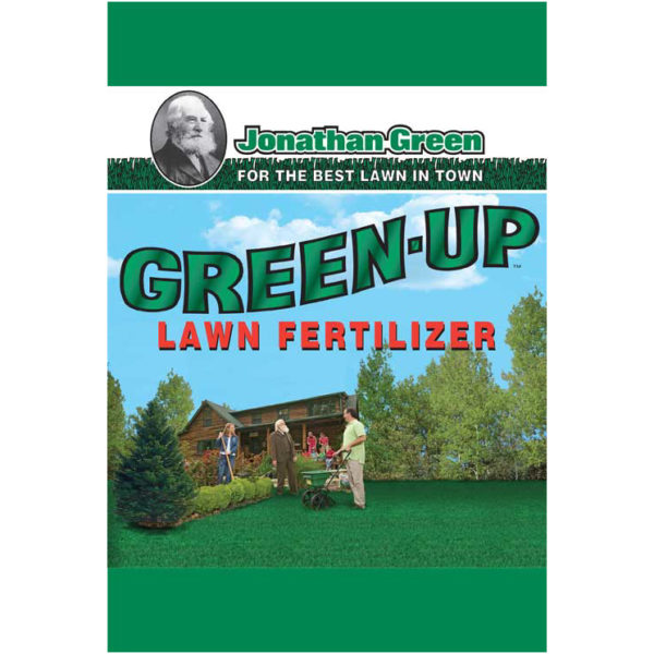 GREEN-UP LAWN FERTILIZER, 5000 SQ. FT.