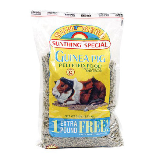 GUINEA PIG PELLETS FOOD, 6 LBS.