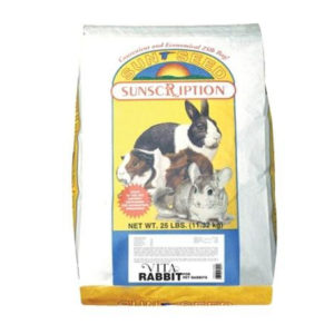 SUN SEED COMPANY VITA MIX DAILY DIET RABBIT FOOD, 25 LBS.