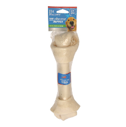 PET FACTORY USA BONE RAWHIDE CHEWS FOR DOGS, 9-10 IN.