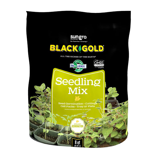 BLACK GOLD SEEDLING MIX, 8 QT.