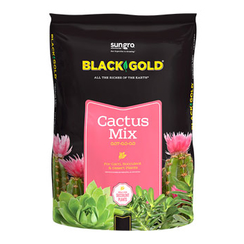 BLACK GOLD CACTUS MIX, 8 QT.