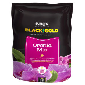 BLACK GOLD ORCHID MIX, 8 QT.