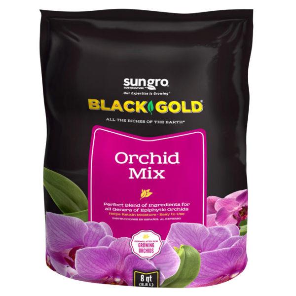 BLACK GOLD ORCHID MIX, 8 QT.