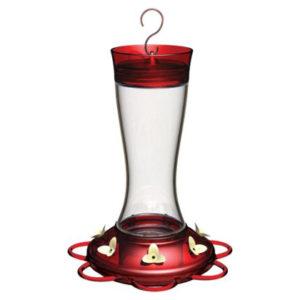 Garnet Hummingbird Feeder, 20 oz. Capacity