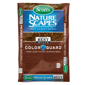 SCOTTS® NATURE SCAPES® COLOR ENHANCED MULCH, BROWN, 2 CU. FT.
