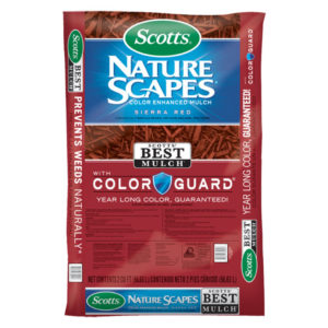 SCOTTS® NATURE SCAPES® COLOR ENHANCED MULCH, RED, 2 CU. FT.