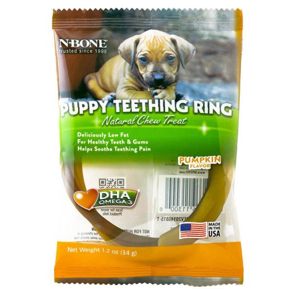 Puppy Teething Ring Pumpkin Flavor