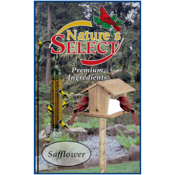 NATURE'S SELECT SAFFLOWER SEED, 20 LB