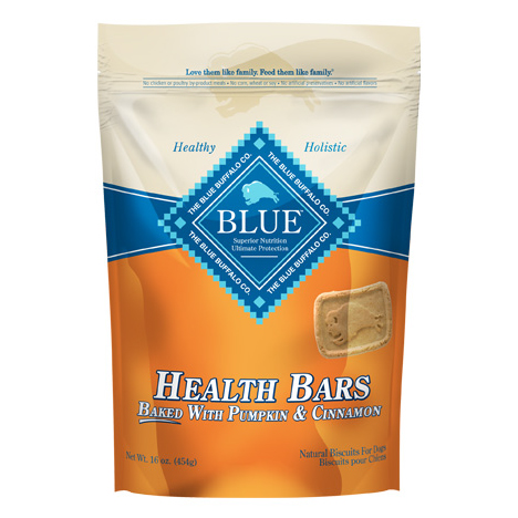 BLUE Health Bars - Pumpkin & Cinnamon