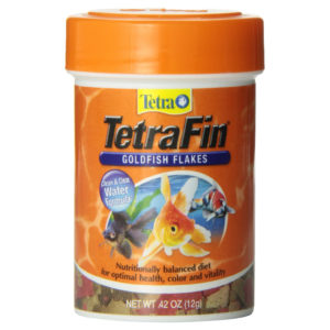TETRAFIN GOLDFISH FLAKES, 0.42 OZ