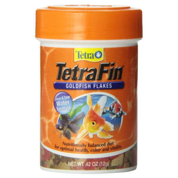 TETRAFIN GOLDFISH FLAKES, 0.42 OZ