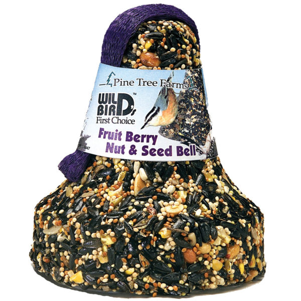 BIRD SEED BELL FRUIT BERRY NUT, 16 OZ