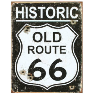 Old Route 66 Sign