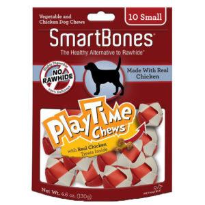 SMARTBONES PLAYTIME CHEWS CHICKEN, SMALL 10 PACK