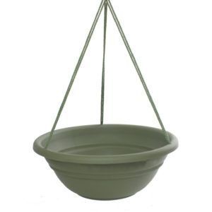 BLOEM MILANO HANGING PLANTER, 17 IN., LIVING GREEN
