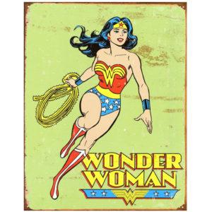 Wonder Woman Retro Sign